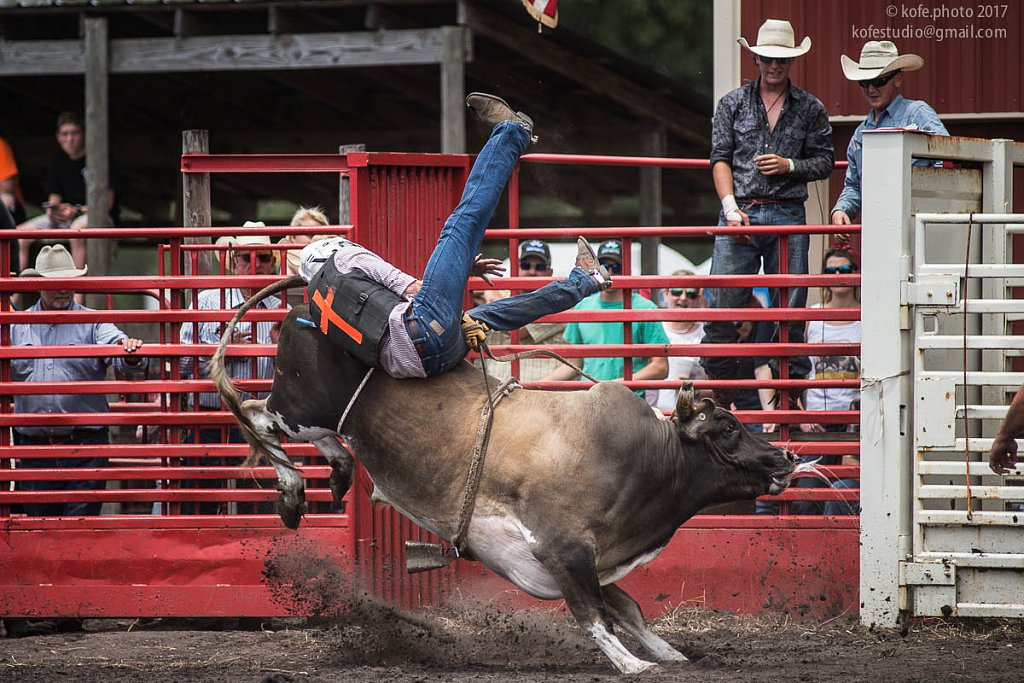 Cracker Day 2017. DeLand. Bull riding.