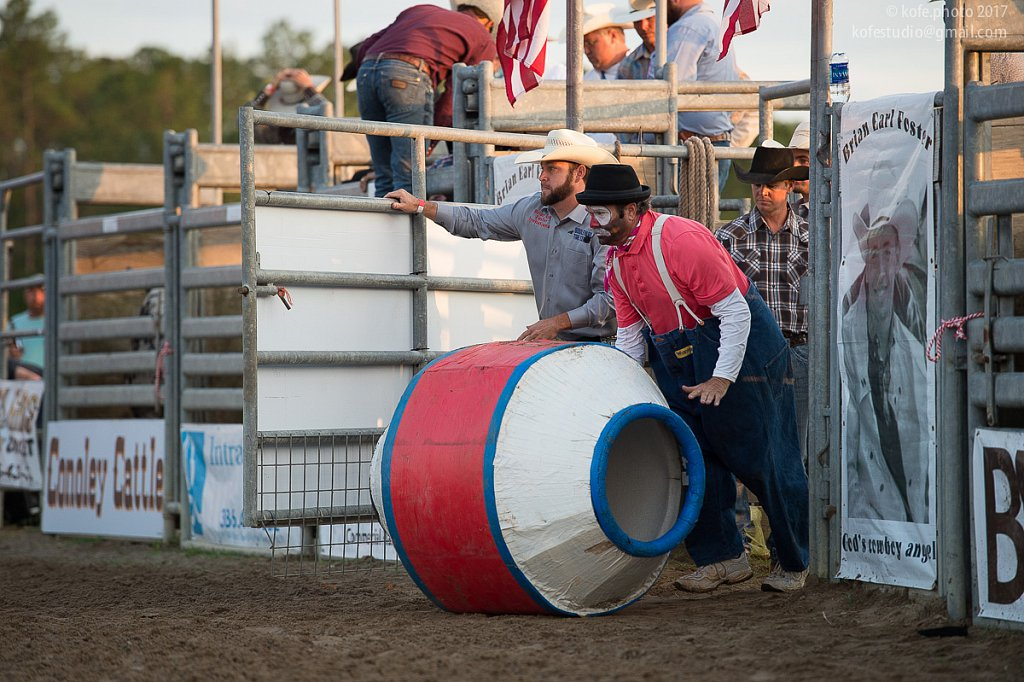 Brian Earl Foster Invitational Bull Riding. Bunnell, FL