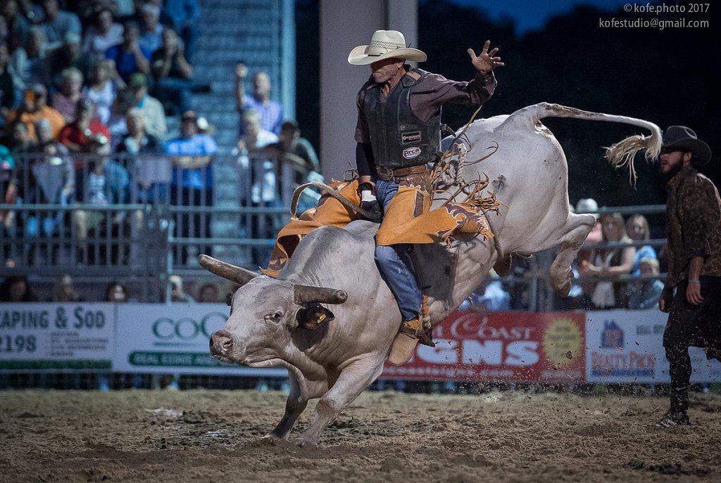 Brian Earl Foster Invitational Bull Riding. Bunnell, FL
