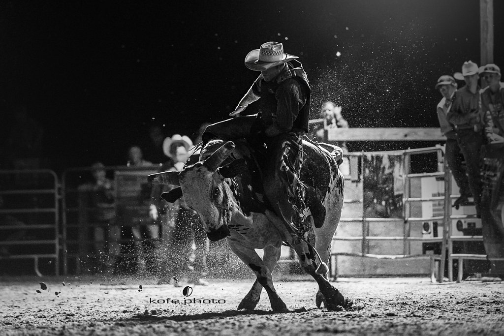 Josh Jones. Bulls and Barrels at Stokes GSR Arena. June 2017. Polk City. FL