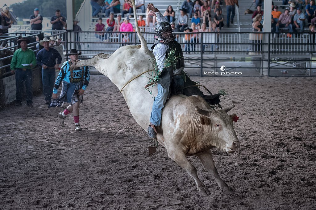 Devonte Lewis. Jimmy's Bucking Barrel Race Benefit Rodeo.