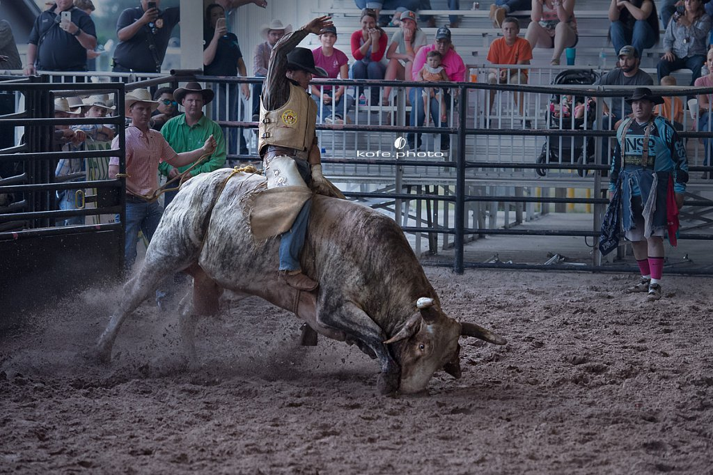 Jimmy's Bucking Barrel Race Benefit Rodeo.
