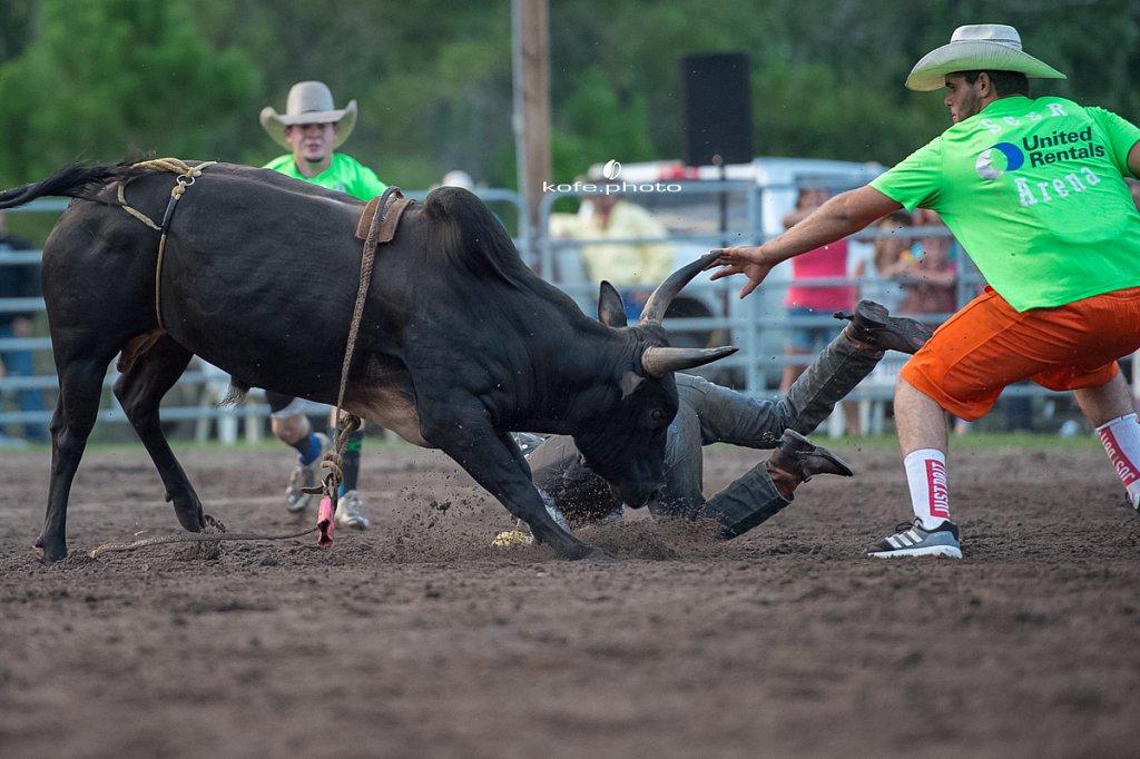 Bulls and Barrels at Stokes GSR Arena. June 2017. Polk City. FL