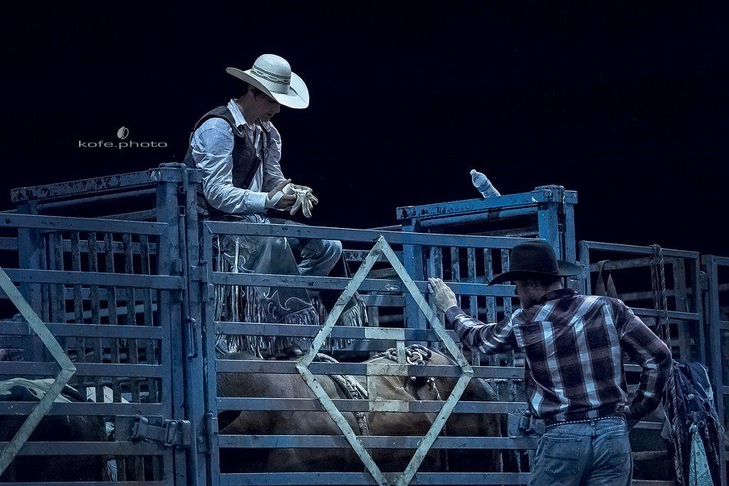 Chris Garrison. Rodeo-HILLIARD, Florida