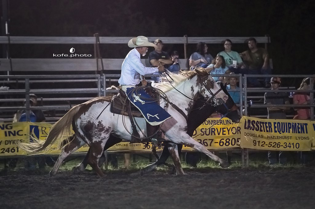 Baxley Lions Club Rodeo. September 29th 2017. Bare Back and Saddle Broncs. Baxley Georgia.