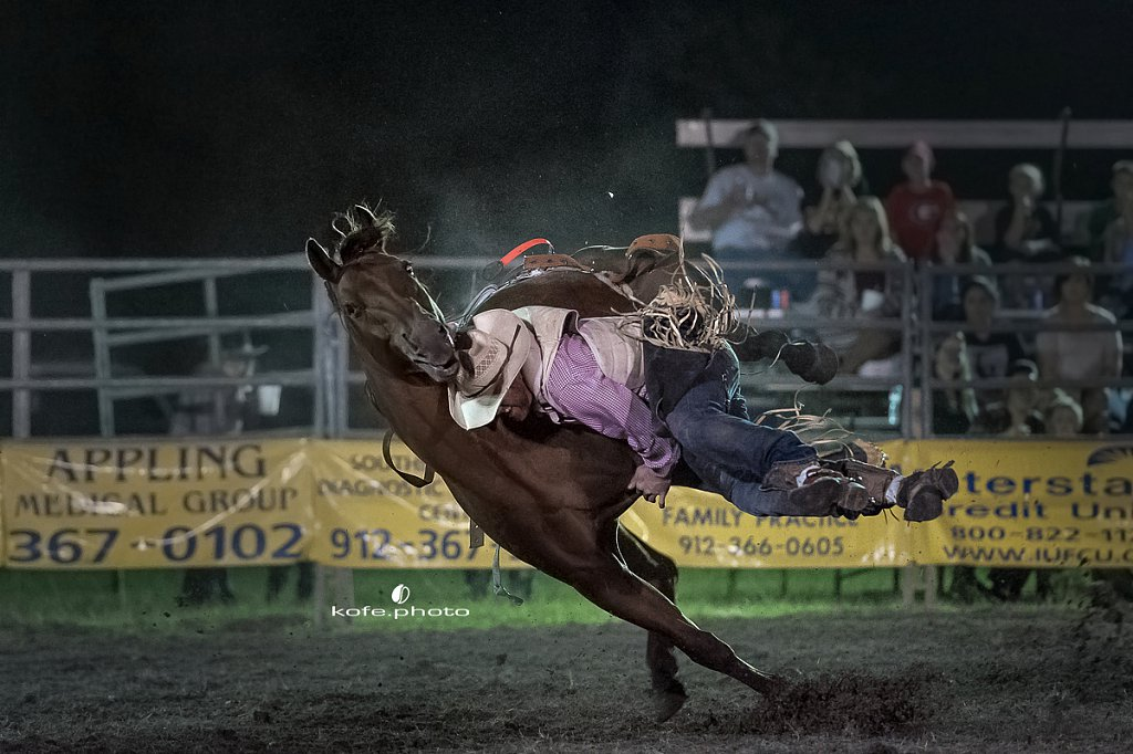Baxley Lions Club Rodeo.