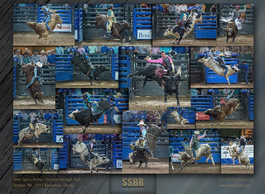 Silver Spurs Rodeo. October 7th, 2017. Kissimmee, Florida