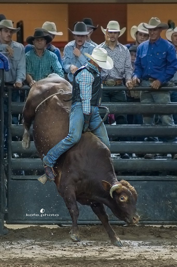 Dustin Muncy. Silver Spurs Rodeo. October 7th, 2017. Kissimmee, Florida