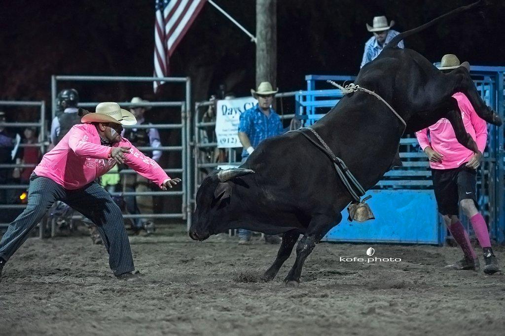Ride Right Roughstock Rodeo. Ambrose, Georgia.