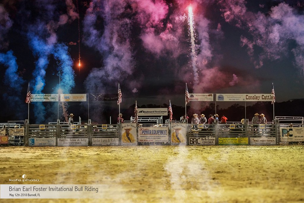 Brian Earl Foster Invitational Bull Riding